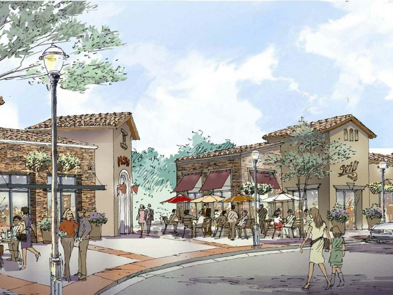 Hollister Village Plaza Shopping Center