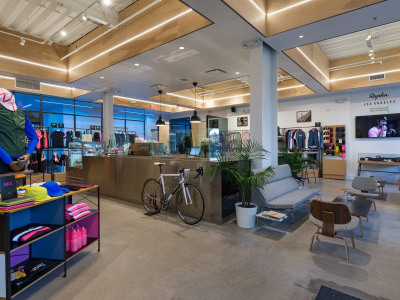 Rapha Racing Clubhouse Los Angeles